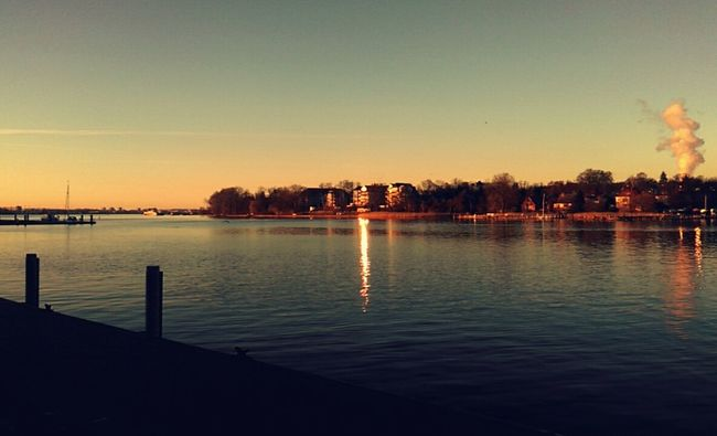 Rostock Stadthafen Rostock Sunset Cold Day Sunny Day 🌞 Wonderful Feeling❤ Spring Feeling Taking Photos Spaziergang Enjoy The Moment Feel Happy Water Reflections Beautiful Place Reflected Glory Nature On My Doorstep