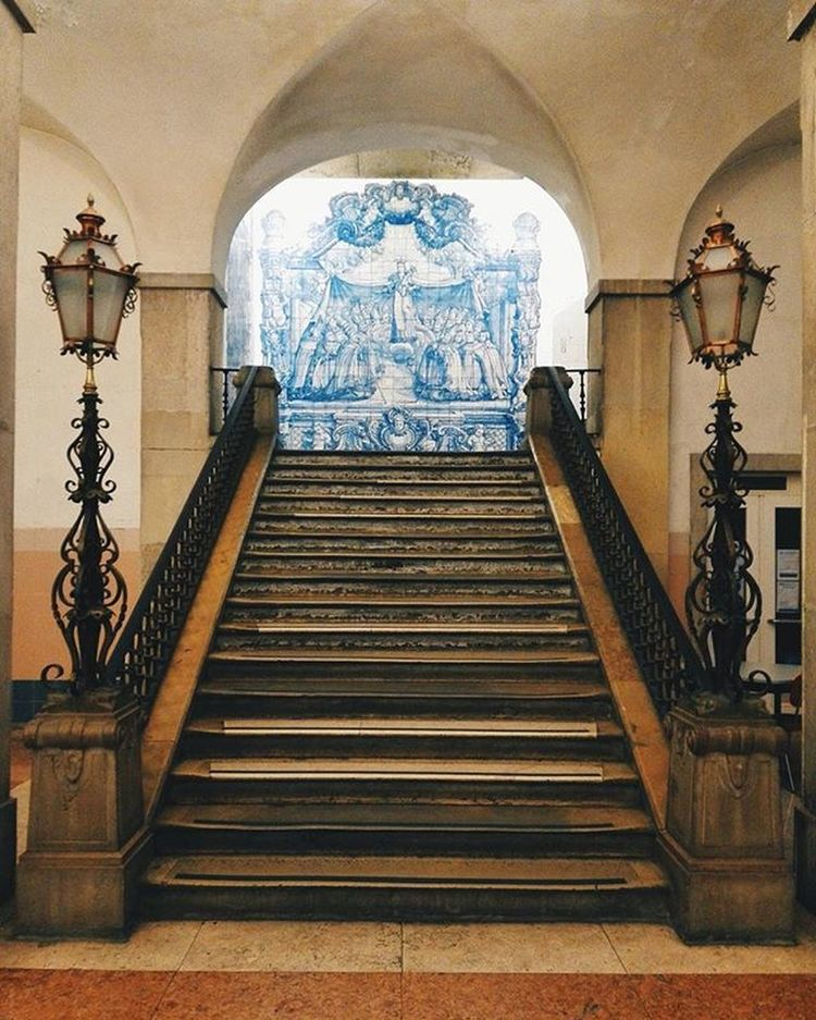 Architecture Oldtiles Azulejo Portugal Lisboa Hospital Instagram Igportugal