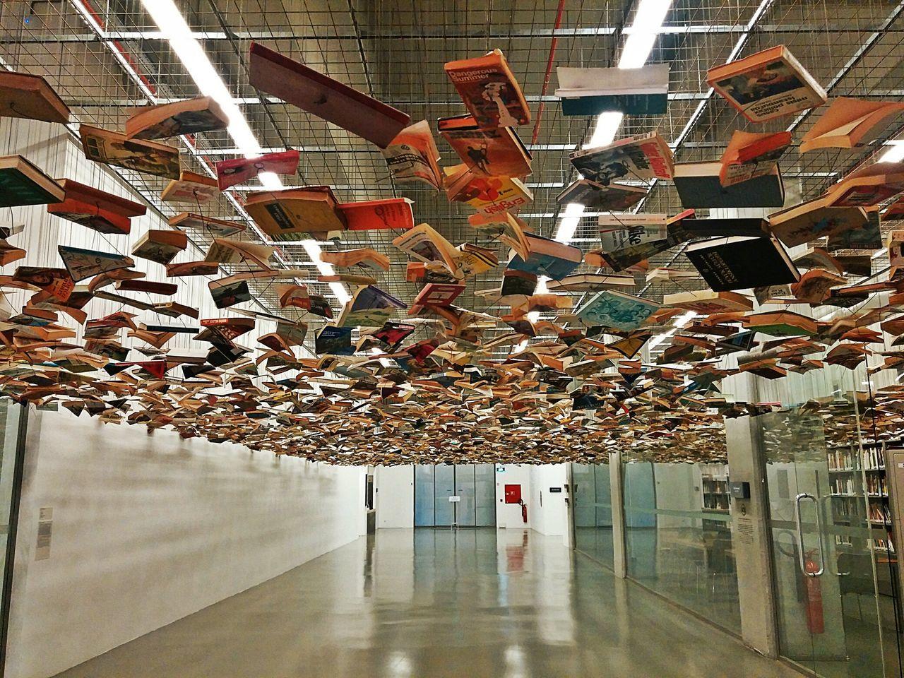 Istanbulmodern Turkey Books Ceiling Corridor Colorsbook OpenEdit Design Art