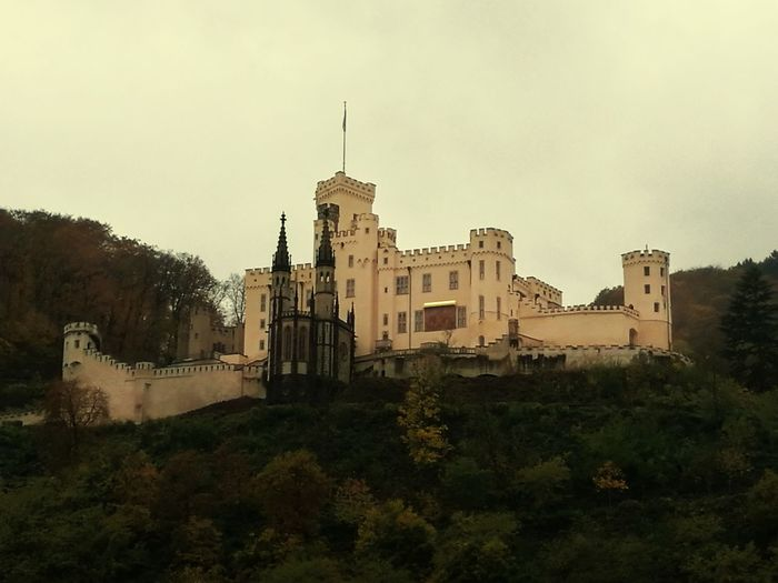 Schloss Stolzenfels Built Structure Architecture