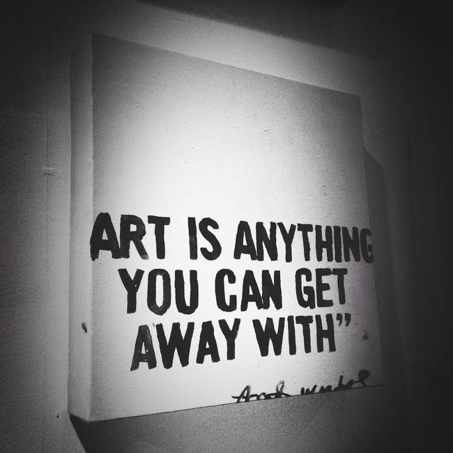 What is art? Blackandwhite Black And White Art