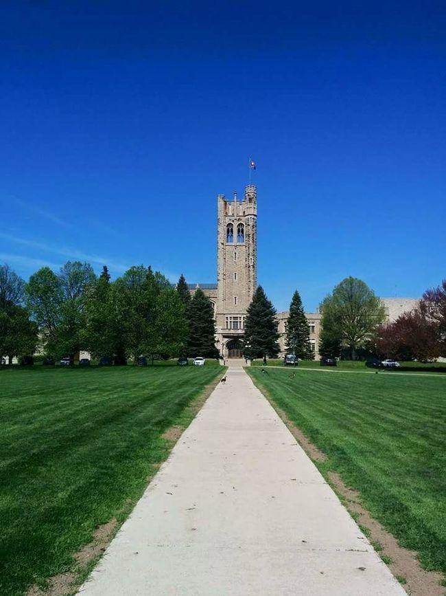 Western University. University Westernuniversity Blue Sky Architecture