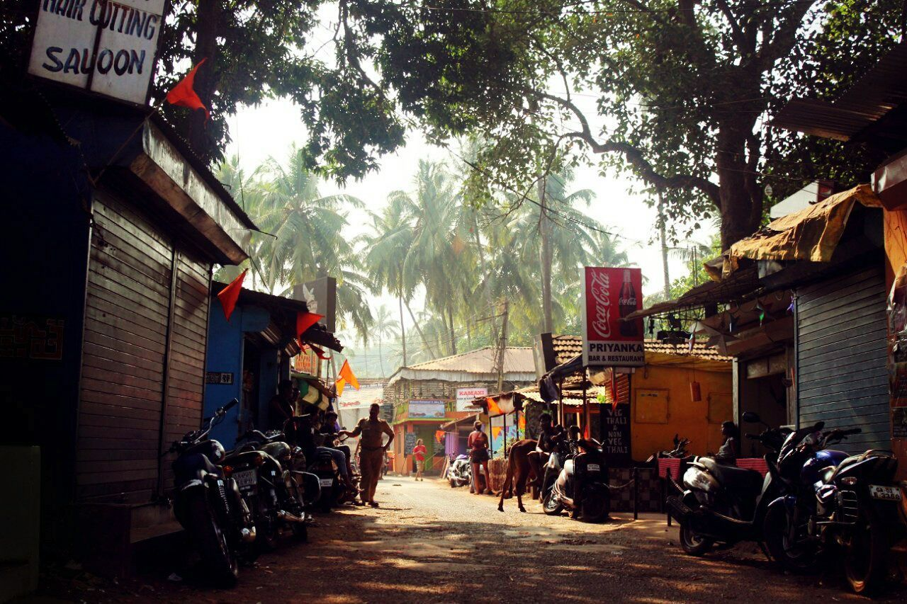 Vacation Streetphotography View Holi Festival Goa India Bright Colors Indians  Silhouette The Innovator Feel The Journey