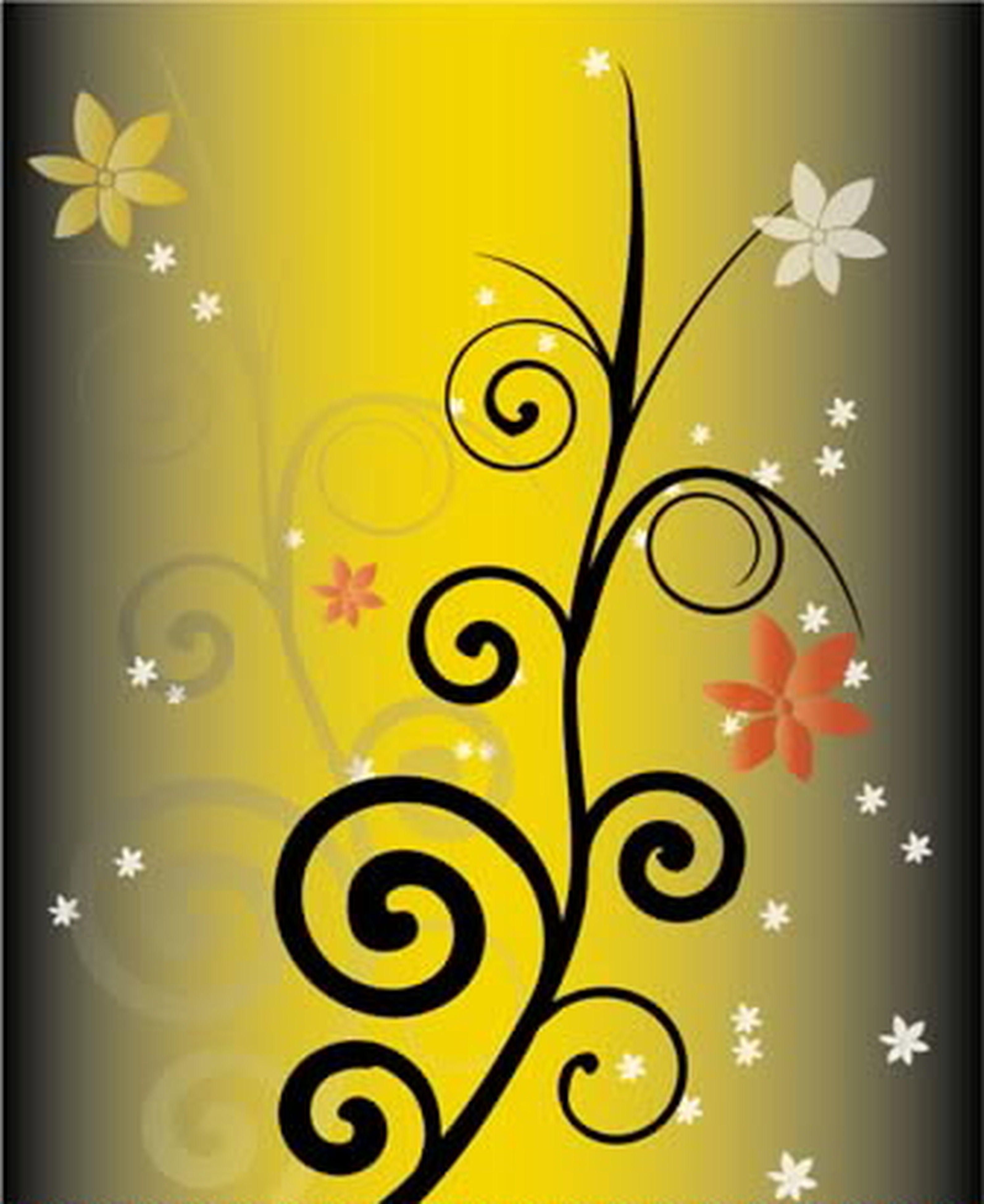 indoors, yellow, creativity, art and craft, art, transfer print, multi colored, auto post production filter, wall - building feature, circle, design, decoration, pattern, close-up, no people, wall, lighting equipment, text, ideas, illuminated
