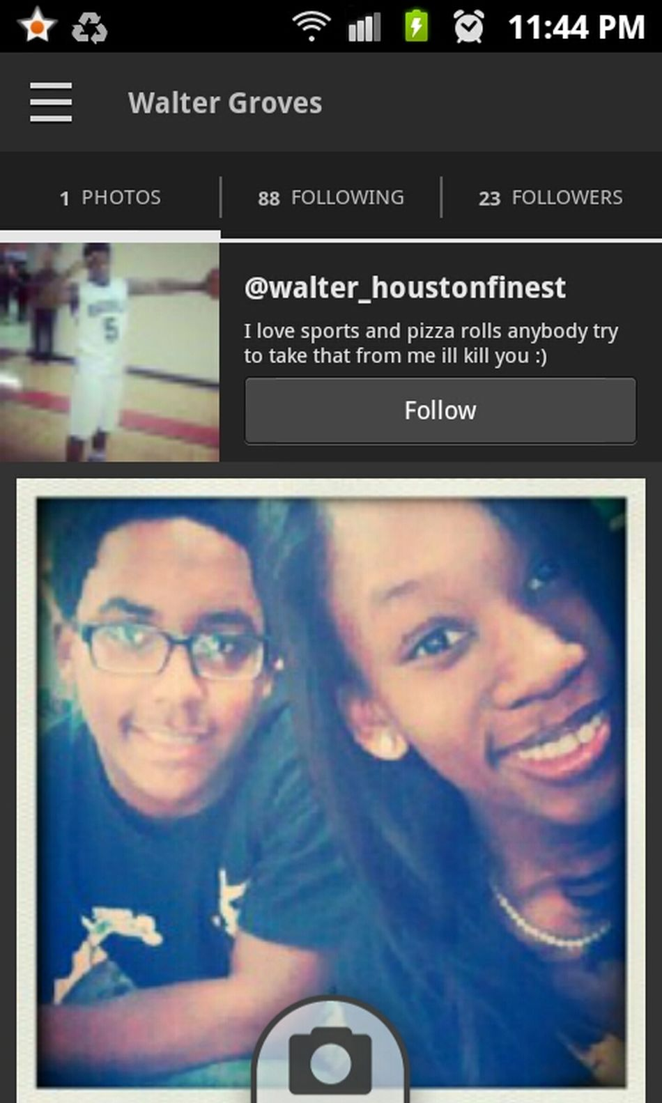 Ayeee Go Follow Him For Me !