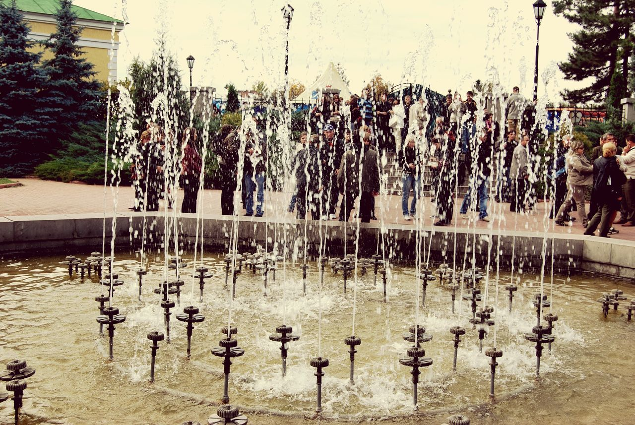 fountain park vintage Tree Water Outdoors Nature Reflection Day Beauty Nature Garden Photography Landscape Cityparking Dendropark Vintage Photo Vintage Photography