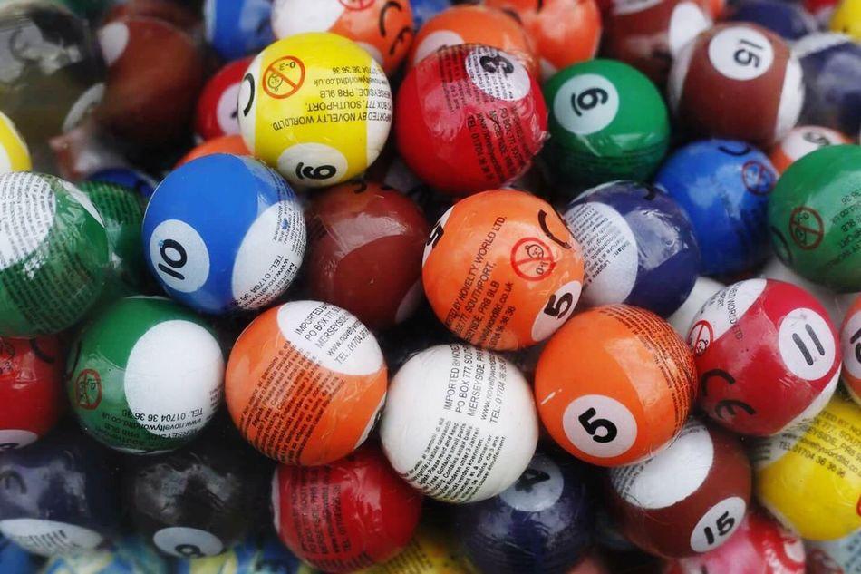 Lucky one Game Ball Balls Teddysicecream Colours Bright Fun Happy
