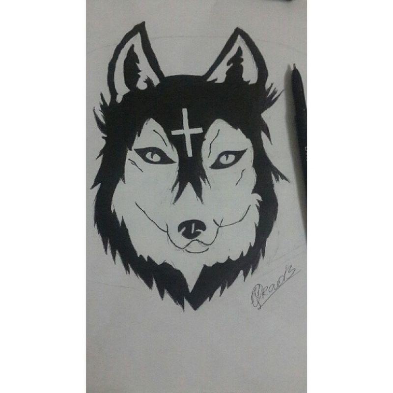Wolf. My art)
