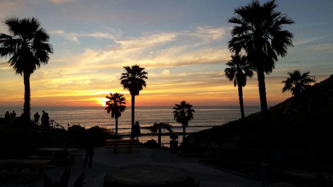 Santa Monica/California March 2017 First Eyeem Photo Nature Sunnset Beach Pazifik Ozean Santa Monica Beach Ozean