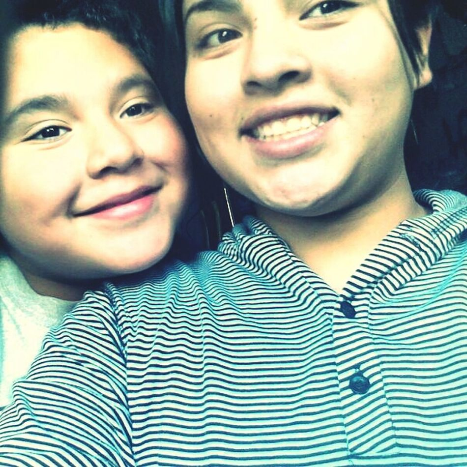 my one true love my little brother:)<3