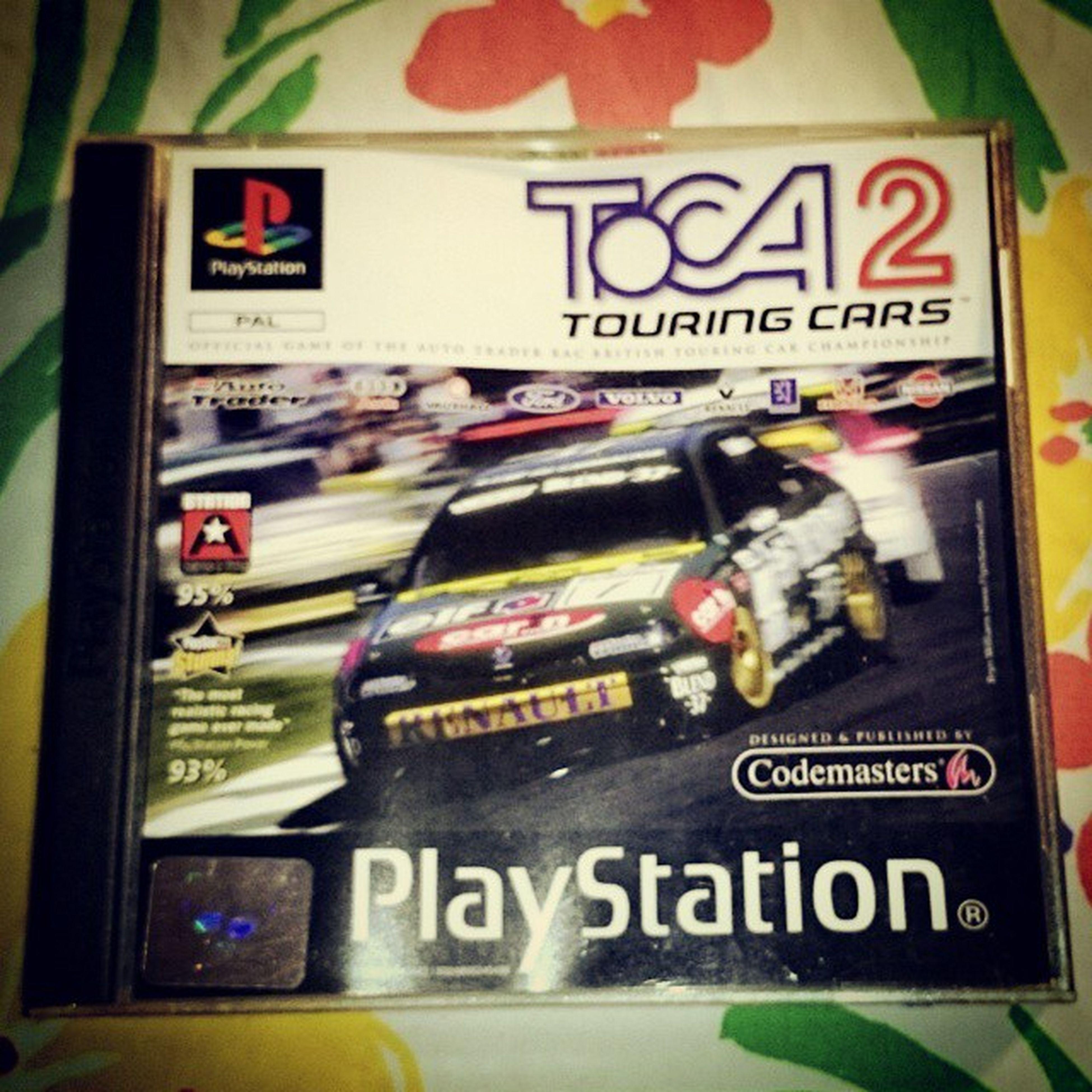 Playstation Racinggames Toca2 Touringcars autopelit