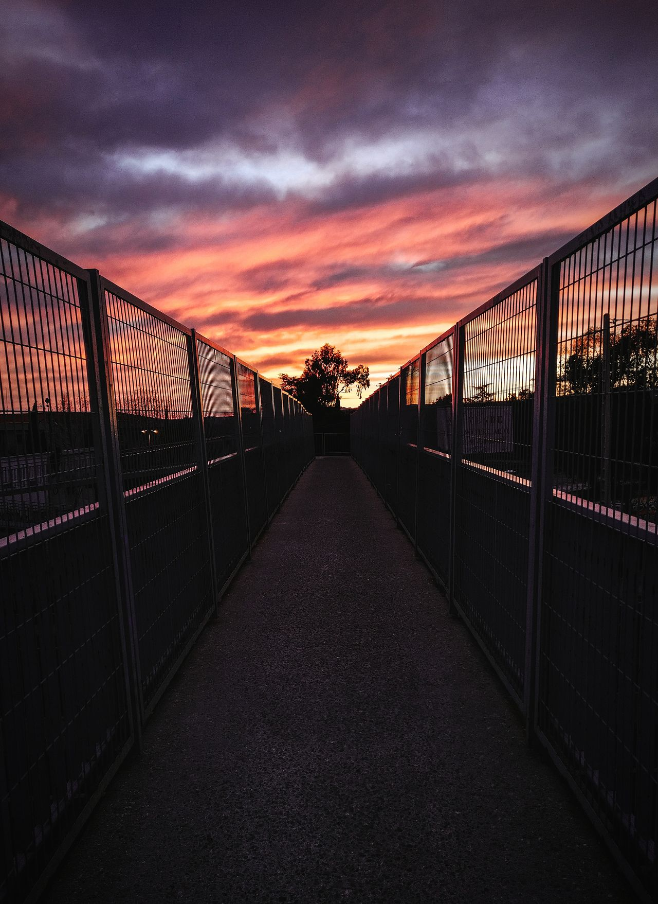 Sunsets Sunset No People Sky Cloud - Sky Bridge - Man Made Structure Outdoors Nature Day
