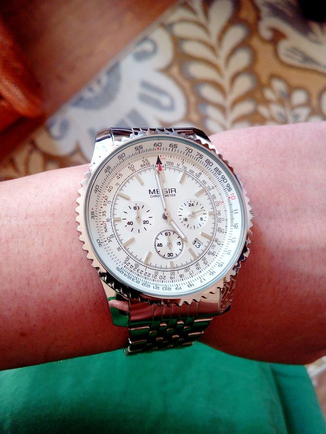 Mensfashion Wristwatch Wristporn