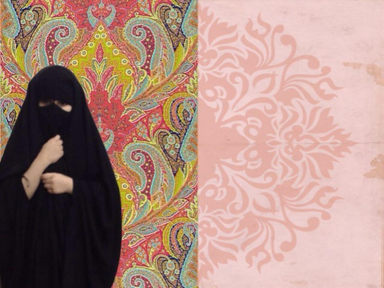 ما هقيت ان البراقع يفتنني ? بنت اختي ? Phtoshop ArtWork Art Saudi Arabia Arabec