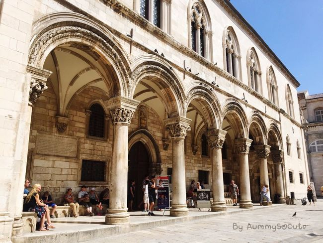 Hello World Taking Photos Enjoying Life Sightseeing AummySoCute Travel Photography Traveling Dubrovnik - Croatia❤