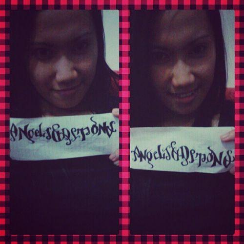 BoredAmbigram AngelsandDemons Sng4thyrPaNi :)
