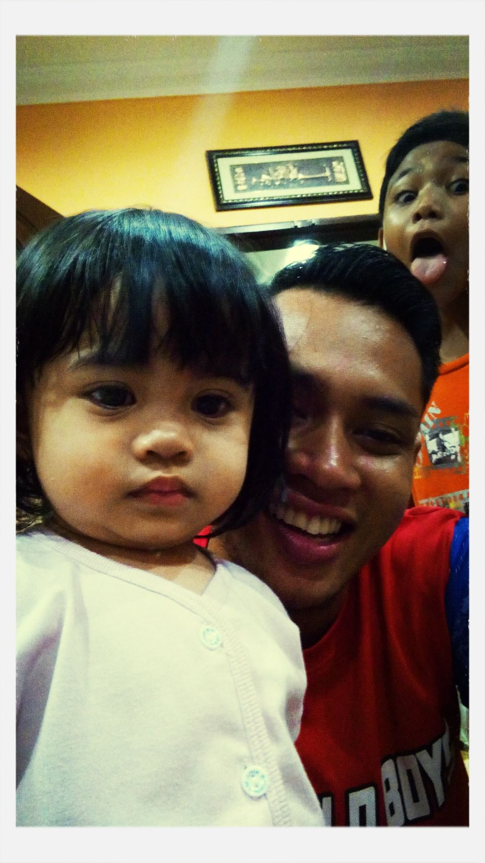 With the cutest kid in the house hehe First Eyeem Photo