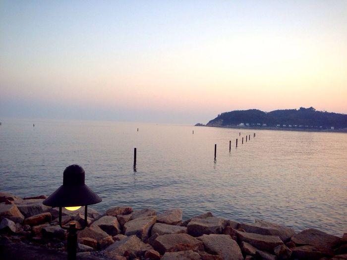 Beautiful Surroundings Beach Life Sunset Silhouettes
