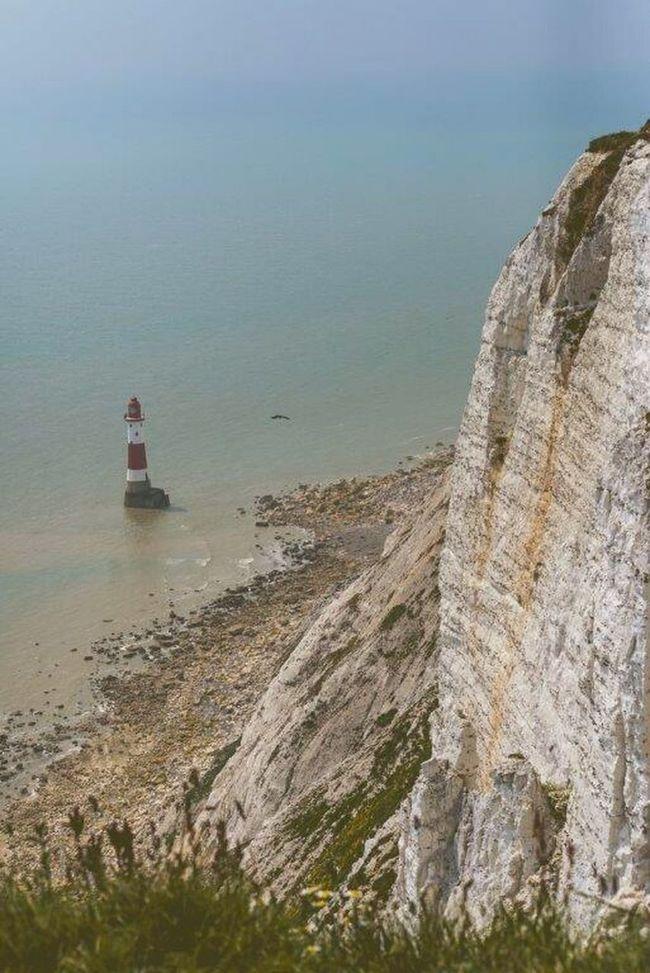 Lighthousephotography Lighthouse_lovers Lighthouseview Lighthouse Beachyhead Beachy Head England🇬🇧 England Cliffs White Cliffs  Sea And Sky Sea View