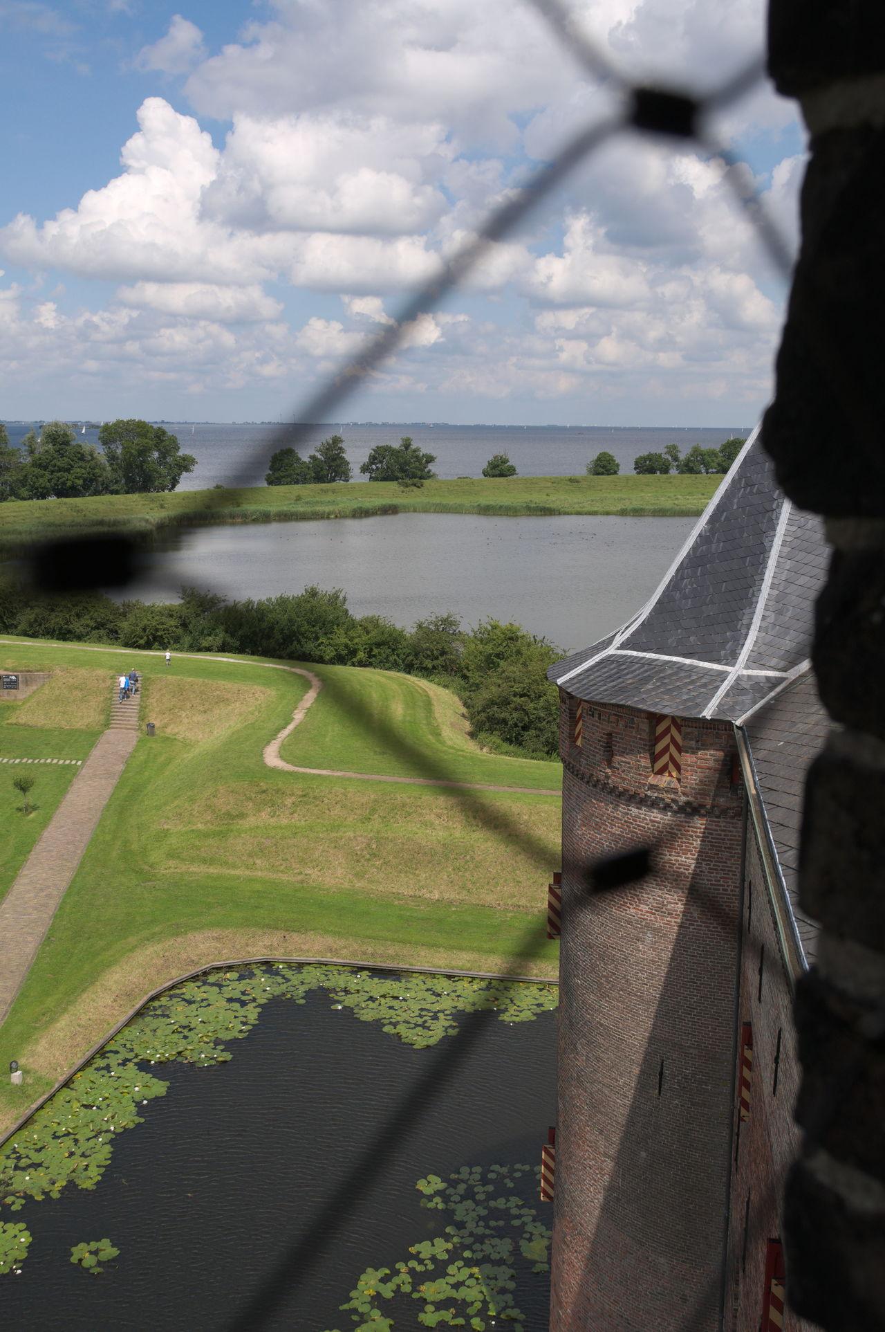 Architecture Castle Castle Tower Castle View  Landscape Muiden Muiden Castel Muiderslot Tourism Tourist Attraction  Tourist Destination