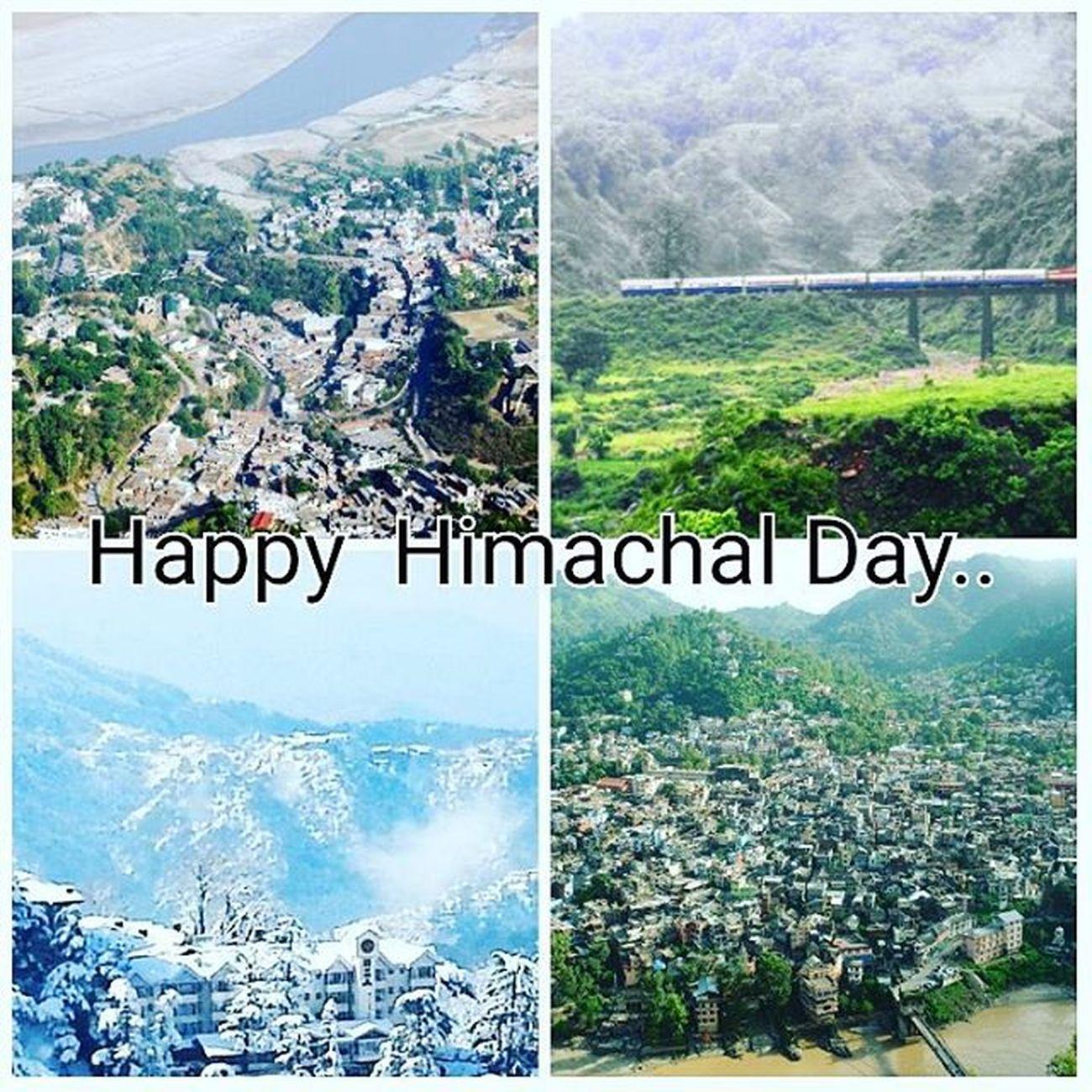 Happy Himachal Day.. 😊😃 Himachalday Himachalpradesh Mandi Bilaspur Kangra Shimla Instahimachal Thequeenofhills Himachalpictures Kinnaurdiaries