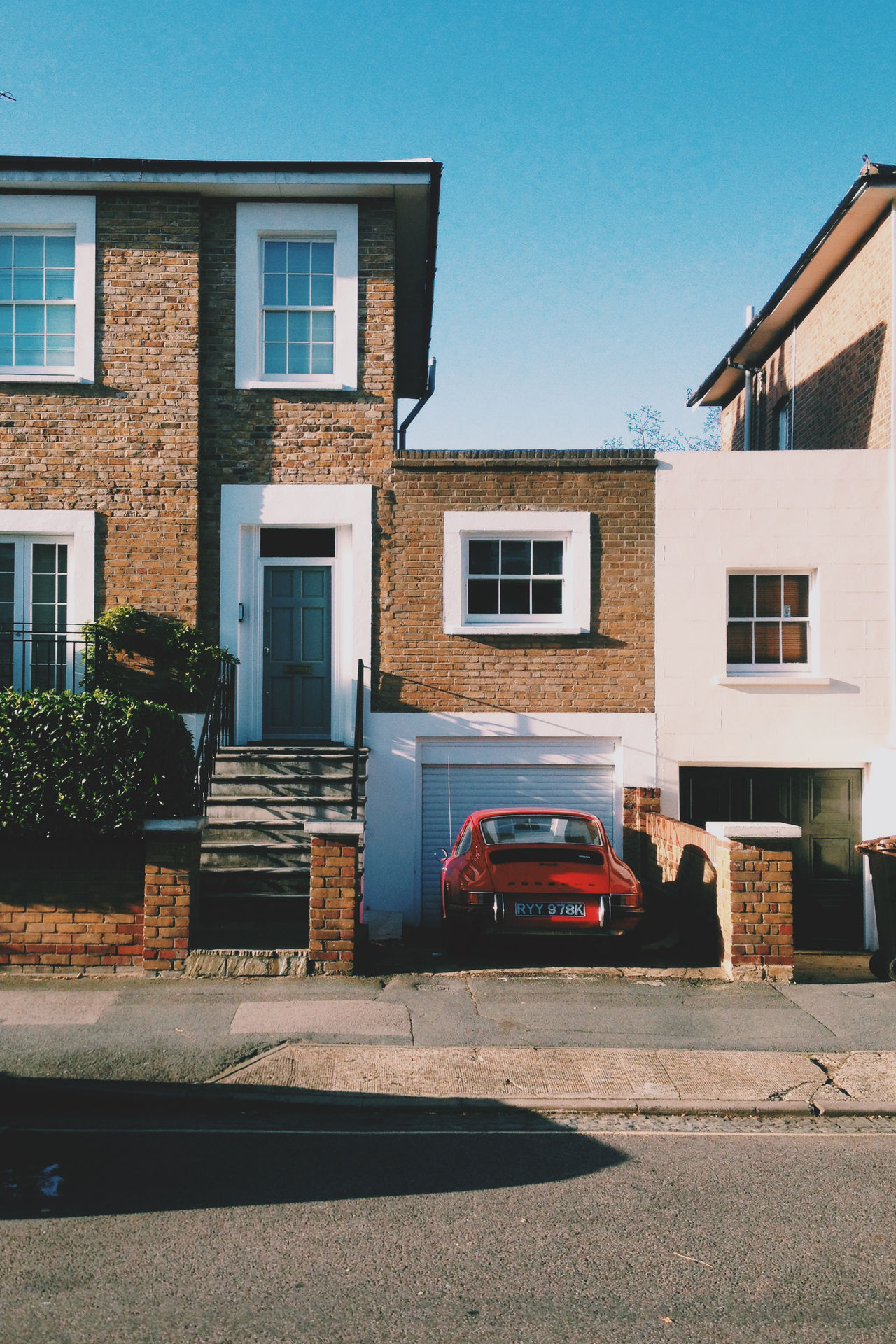 Architecture Architecture Bricks Building Building Exterior Car City City Day House Houses London Nature On Your Doorstep Old Buildings Spring Sun Urban Vintage Cars Windows
