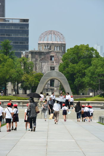 The Human Condition Hiroshima Peace Memorial Park Looking Into The Future Growing Better Protecting Where We Play