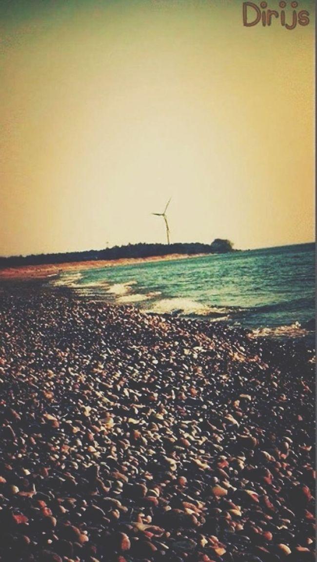 Sea Nature Makes Me Smile Stoned Beach