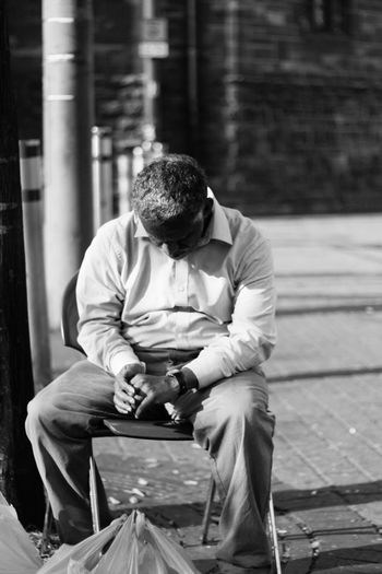 Street Photography Bw Streetphotography Sleeping Black And White