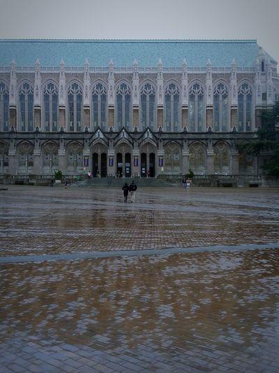 Library Rainy Day Seattle, Washington Travel Destinations