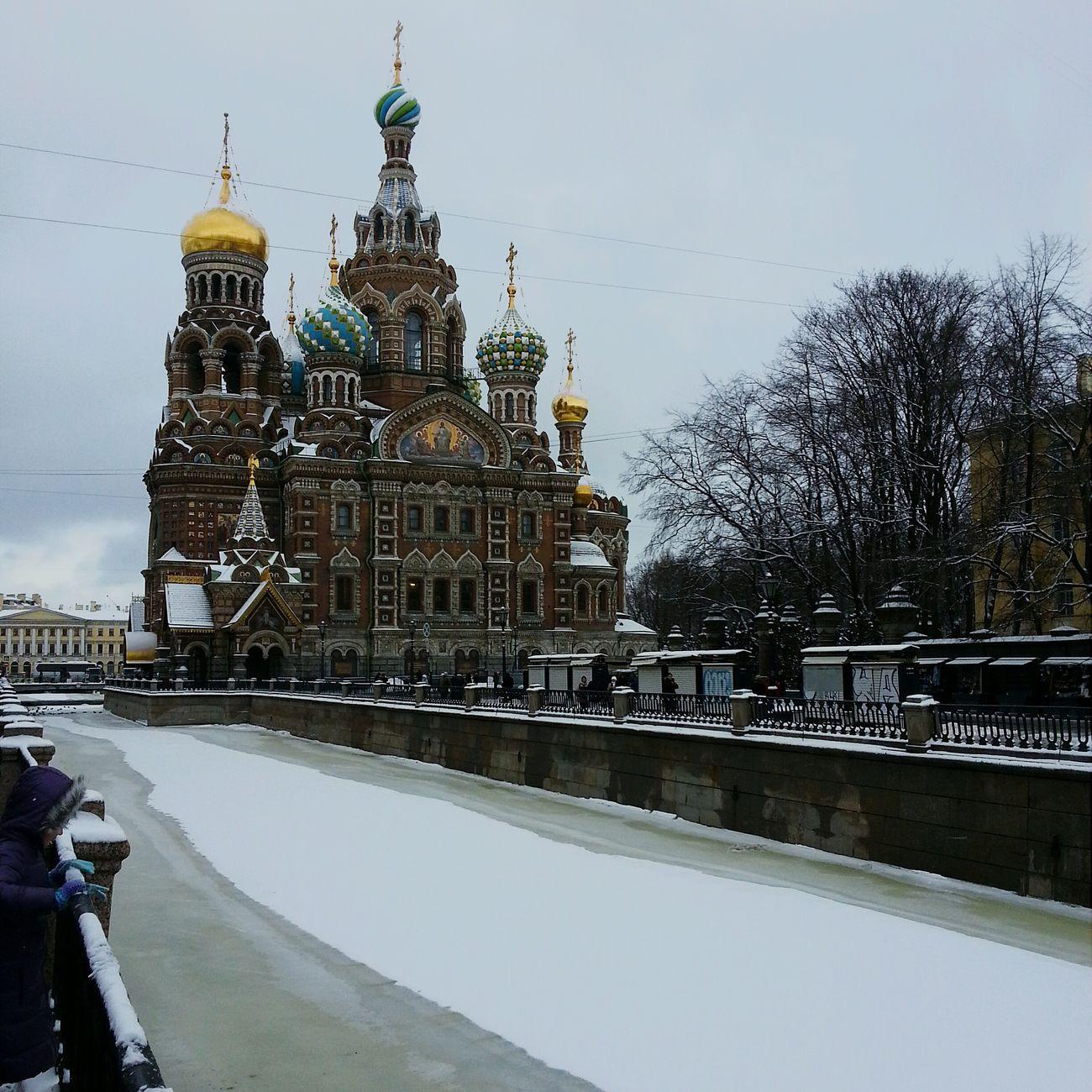 Russia Winter зима