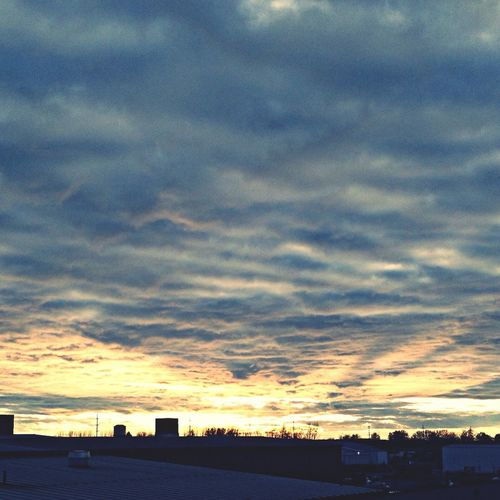 Skyporn Sunset Clouds Sky
