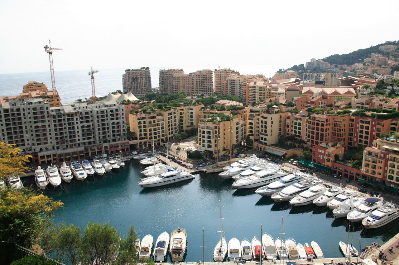 Monaco Architecture Building Exterior City Cityscape Day Harbor Harbour View Monaco No People Outdoors Sky Travel Destinations Travel Photography Urban Skyline