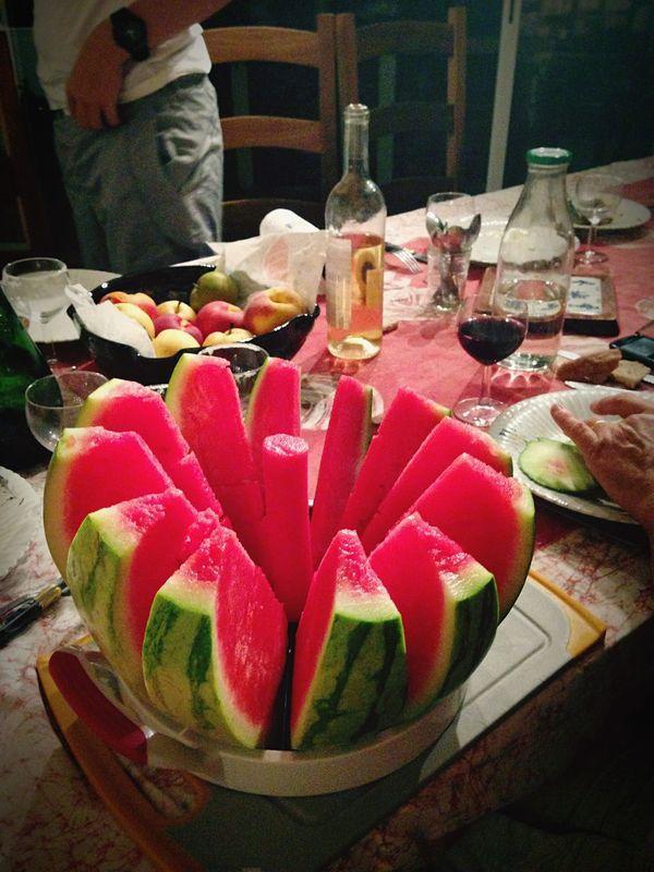 Watermelon Red Nice Evening