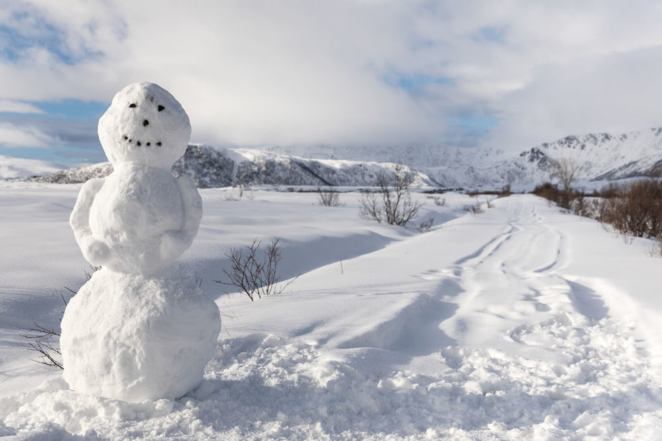 Beautiful stock photos of schneemann,  Andenes,  Anthropomorphic Face,  Beauty In Nature,  Cloud - Sky
