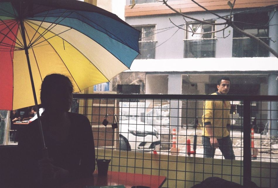 Vol5 of film. Rainbow street under construction Film Film Photography Lifestyles