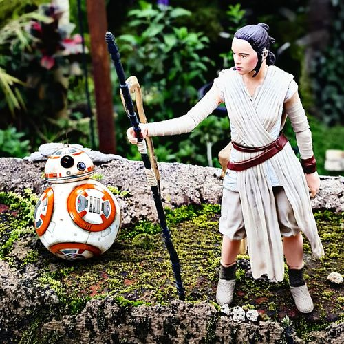 REY & BB8 Rey TheForceAwakens Starwars Bb8 Bb8droid Toygallery Toygroup_alliance Actionfigurephotography Toy Photography