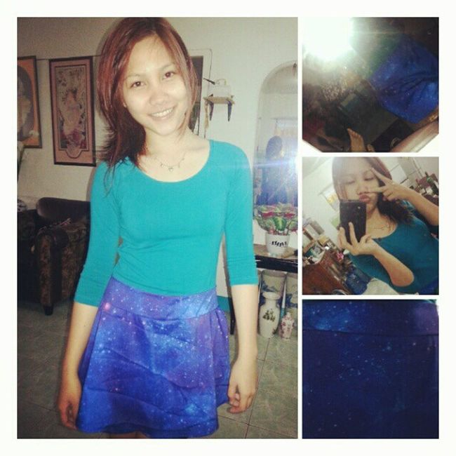Hello ♥ @iamtreasurejewel Ootd Blue Galaxy Plushclothingph char