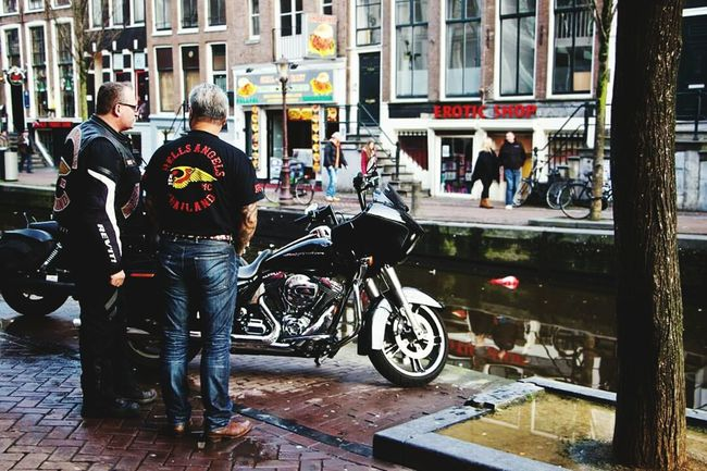 Amsterdam Street Photography Streetphotography Red Light District Photography Motobike Street Chiarabe