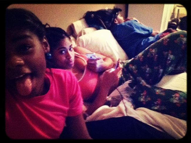 Sleepover With My Girlsss