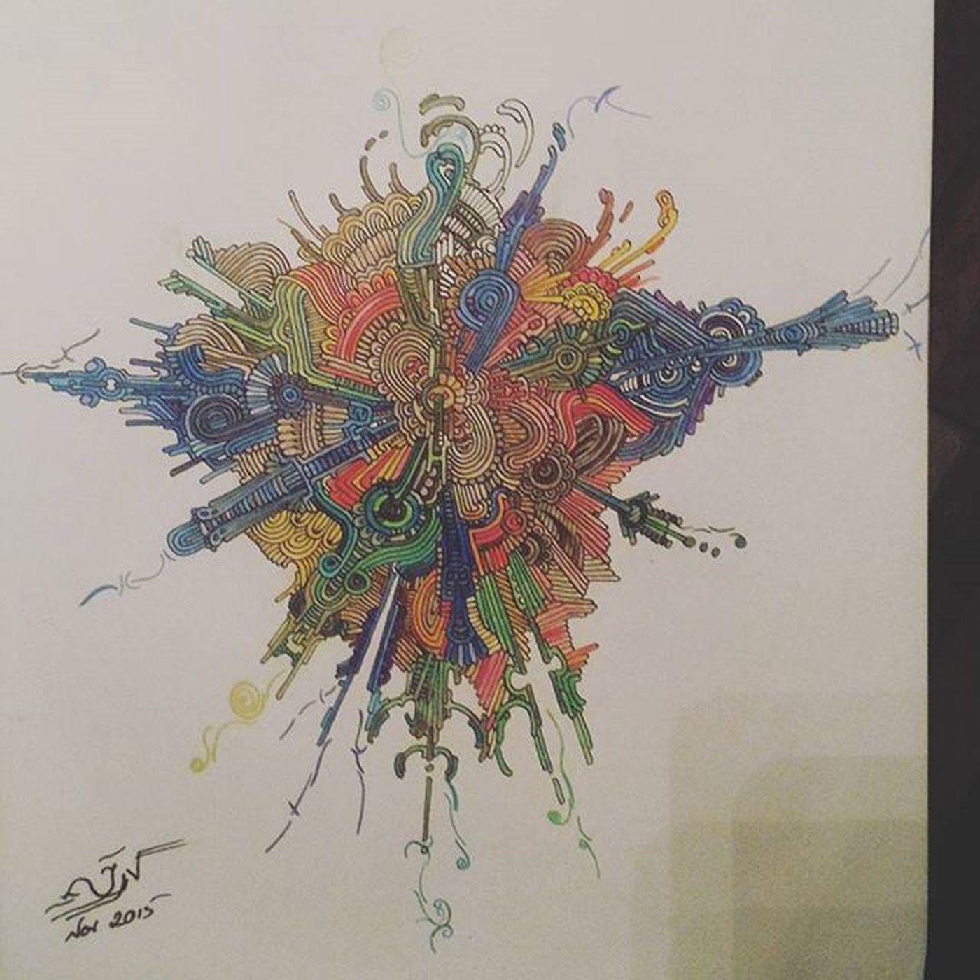 @peterdraws PeterDeligdisch PeterDraws Colormecrazy Colorful ColourPencil Color Colors Adultscancolortoo ColourPencil
