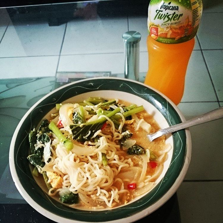 I made Maggi noodles it's delicious...yummy!! Maggi Fastnoodles Tasty