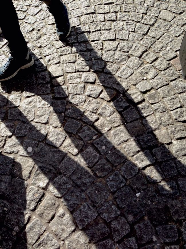 Three Legs Light And Shadow Cobbles Beaubourg Surnatural Bestoftheday Sunset Silhouettes Sunny☀ The Human Condition