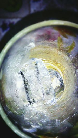 Ice/cool Alcohol On The Rocks