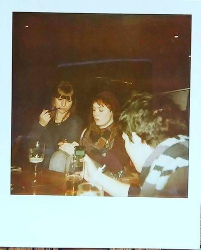 Polaroids Polaroid Lifeasiseeit Johnnelson Studentlife  Unilife Uni Redsbar Northumbriauni Inthepast Whereareyounow Dansharp Pollyshave Louise Contemporaryphotographicpractice