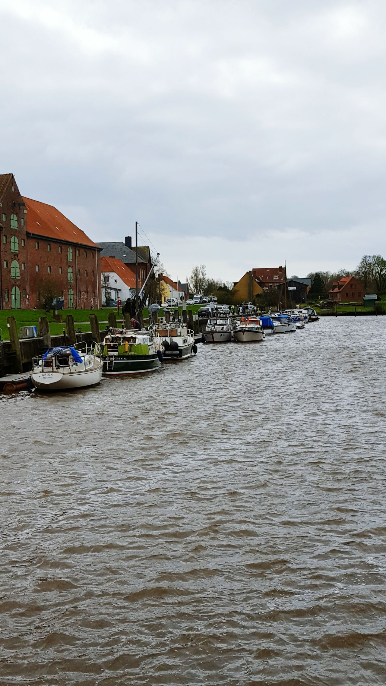 Hafen Tönning Nordsee Nordseeküste Eiderstedt
