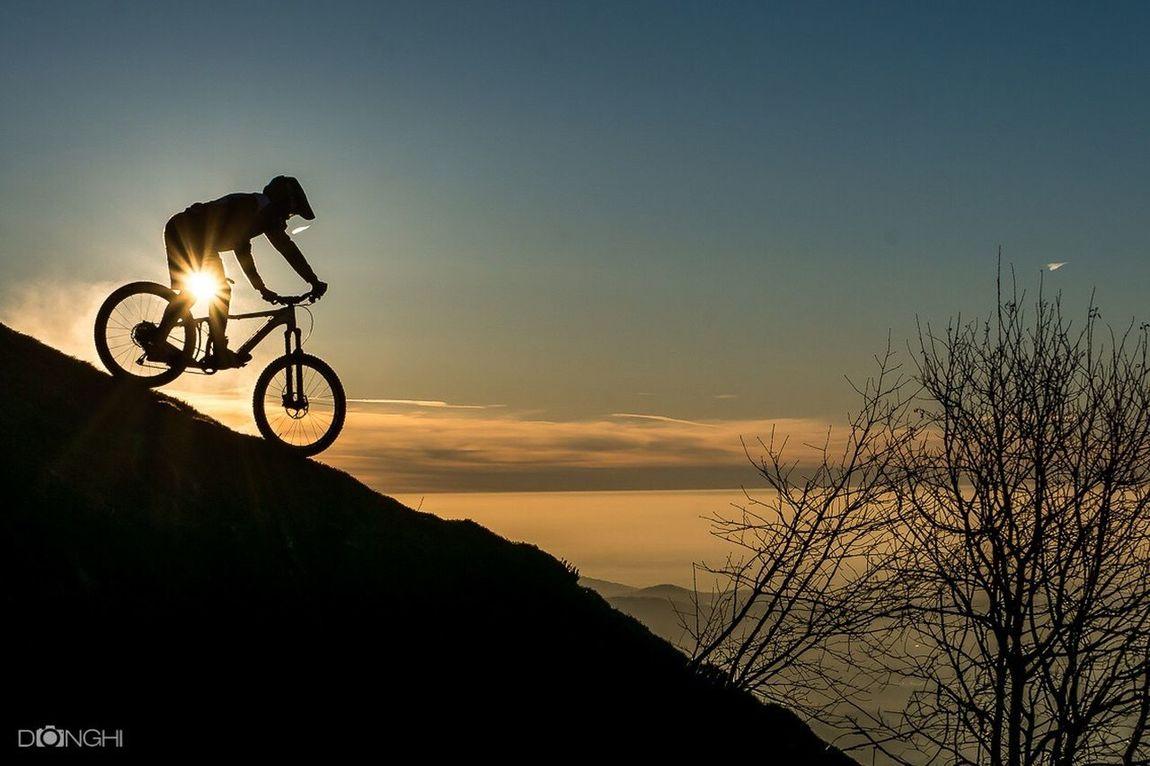 Bicycle Burn Sunrise Montebolettone Sonyalpha Italy🇮🇹 Como Lake Landscape Sport Nature Scenics Extreme Sports Actionphotography Sports Photography Enduromtb MTB Biking Mountain Bike