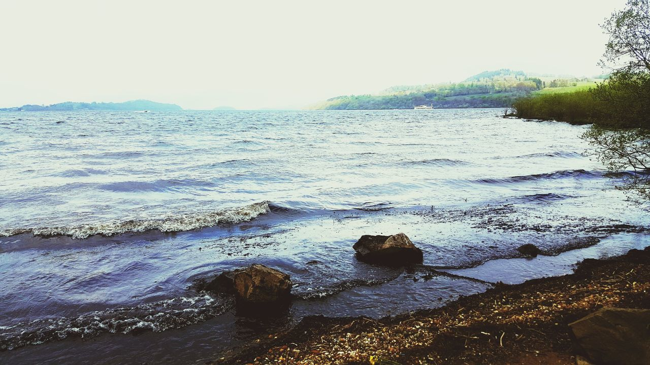 Shore Tranquility Tranquil Scene Lake Landscape LochLomond Cameron House Blue Outdoors Wave Sky Day Beach Nature Water The Great Outdoors - 2017 EyeEm Awards Neighborhood Map