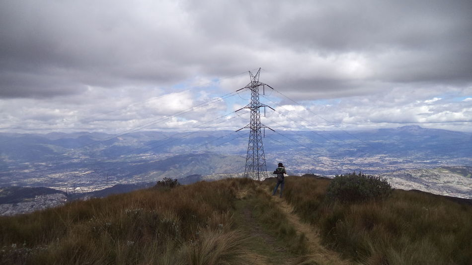 Adventure Andean Landscape Cloud - Sky Cloudy Hiking Landscape Mountains And Sky Semiurban Trail