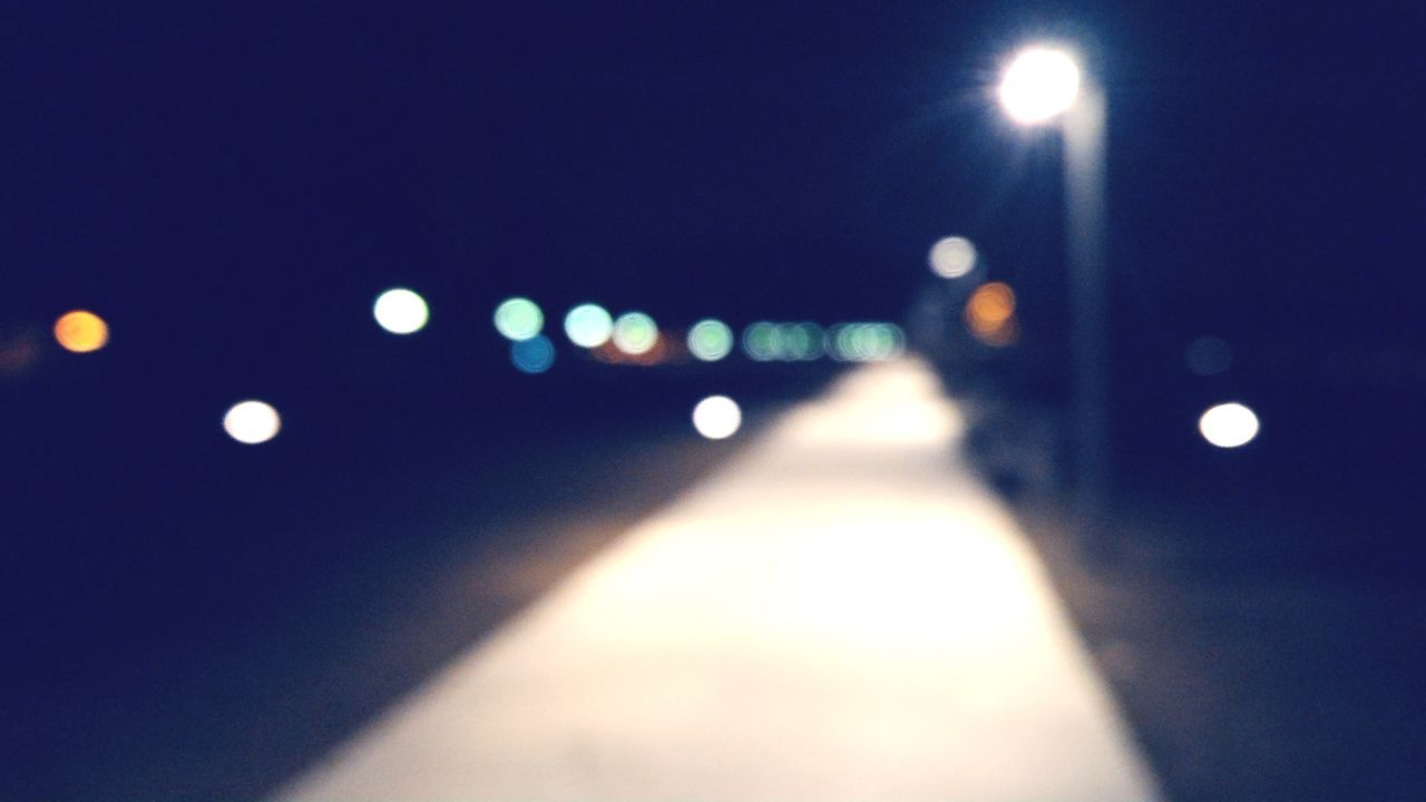 Blurry way home Blurry Path Road Home Drunk Night Out Of Focus Night Road Go Drunk, You're Home